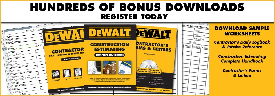 contractor forms safety inspection checklists and more free downloads